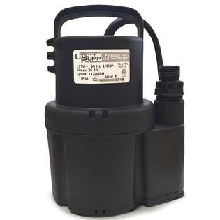 Submersible Utility Pump Flood Water 1 6 HP Basement Pool Pump by