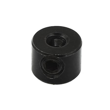 Unique Bargains 4mm Dowels Cavity Consistent Drill Depth Stop Collars Black - image 1 of 1