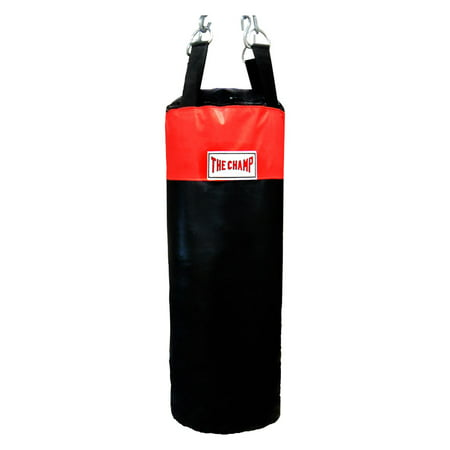 The Champ Heavy bag Boxing Muay Thai MMA Fitness Workout Training Kicking Punching 50 lb. UNFILLED Heavy Bag