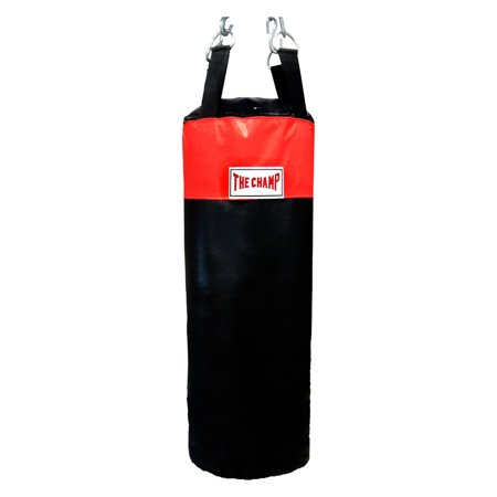 The Champ Heavy bag Boxing Muay Thai MMA Fitness Workout Training Kicking Punching 50 lb. UNFILLED Heavy