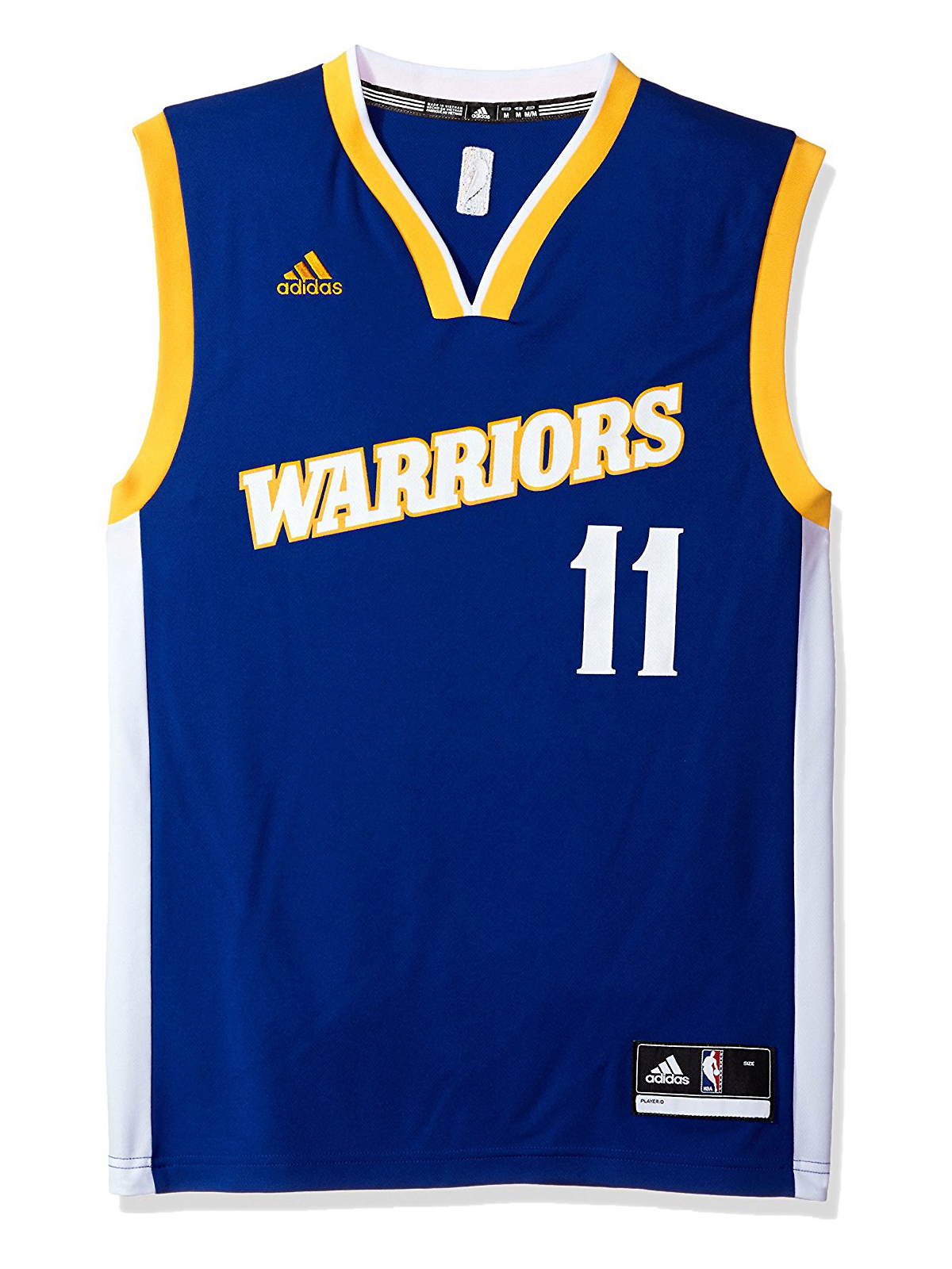 cd68aabbe46 ... norway adidas mens golden state warriors klay thompson 11 blue retro  stitched nba swingman jersey 8911c