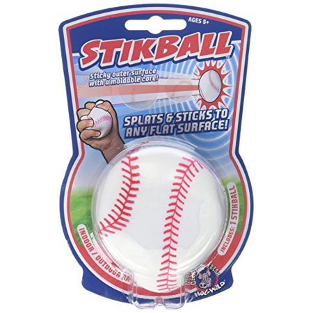 How Wild Splat & Stick Stikball (Baseball) (Best Baseball Bat For 9 10 Year Old)