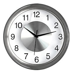 New Orleans Saints Round Clock (Realspace® Round Quartz Analog Wall Clock, 12