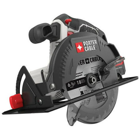 PORTER CABLE 20V MAX Lithium-Ion 6.5-Inch Cordless Circular Saw (Bare Tool / Battery Sold Separately), PCC660B