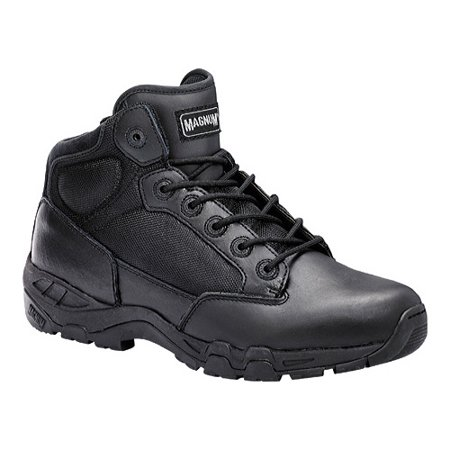 "Mens 5"" VIPER PRO 5 Side Zip SZ WP Black Police Army Combat Boots 5479"