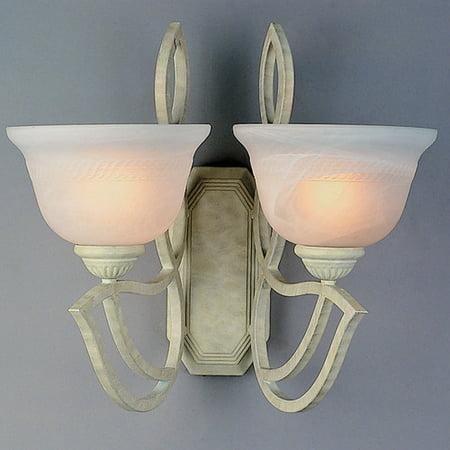 Eurofase Lighting Crystal Sconce - Classic Lighting 2-Light Wall Sconce