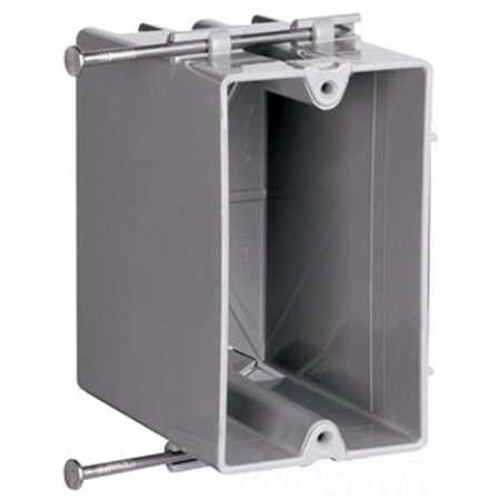 Pass and Seymour P1-22-R 1G Plastic OUTLET - 1g Outlet Box