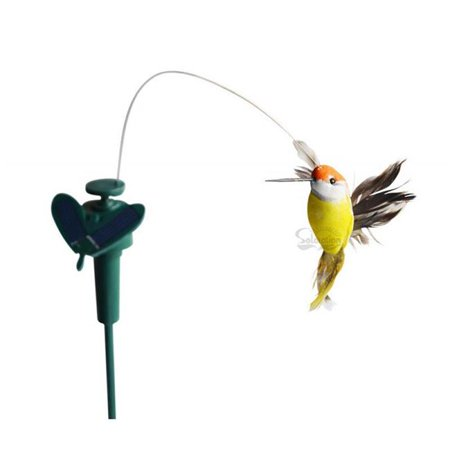 Garden Sun Light 7003F Solar Yard Stake Fluttering Hummingbird - Hummingbird Stake Light