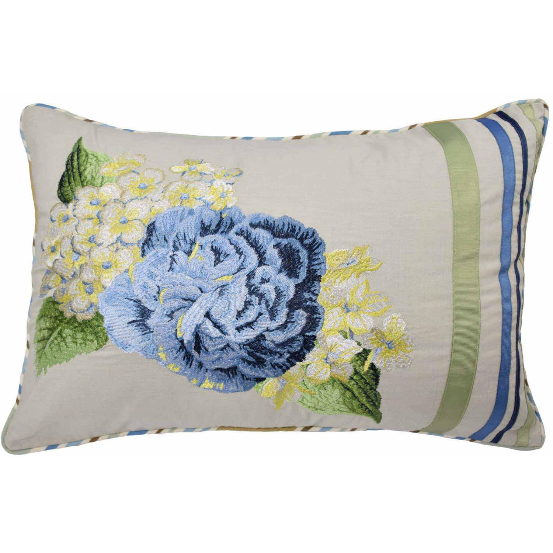 Floral Flourish  Decorative Pillow