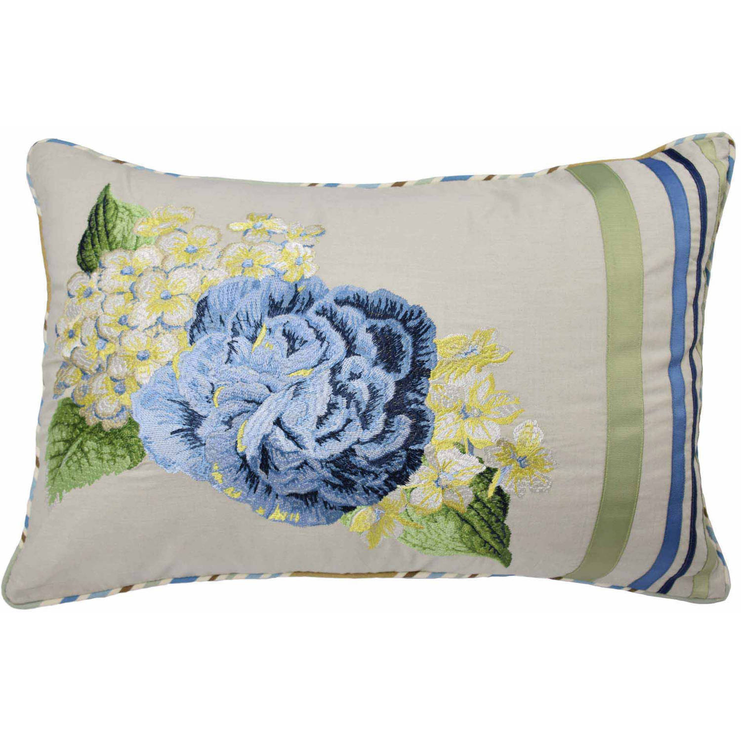 Floral Flourish  Decorative Pillow