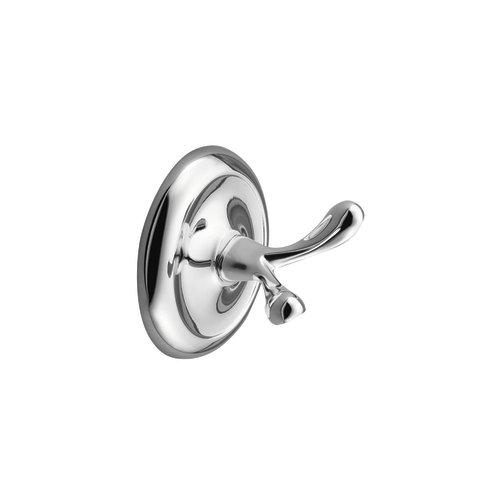 Moen  5303  Robe Hook  Yorkshire  Accessory  Double Hook  ;Chrome