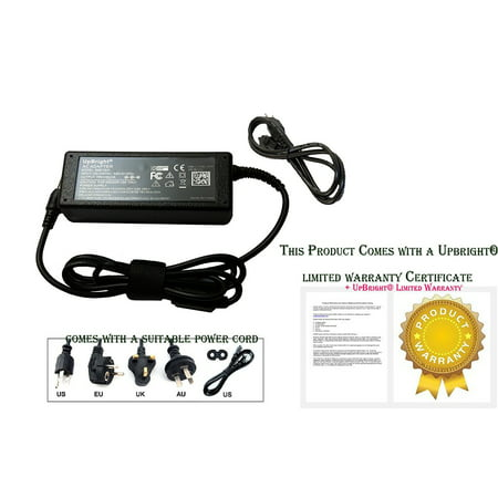 UPBRIGHT NEW Global AC / DC Adapter For Suaoki Model: S601 220Wh/20000mAh Solar Battery Portable Generator Power Source AC / DC Converter Power Supply Cord Cable Charger Mains (Best Portable Solar Charger For Laptops)