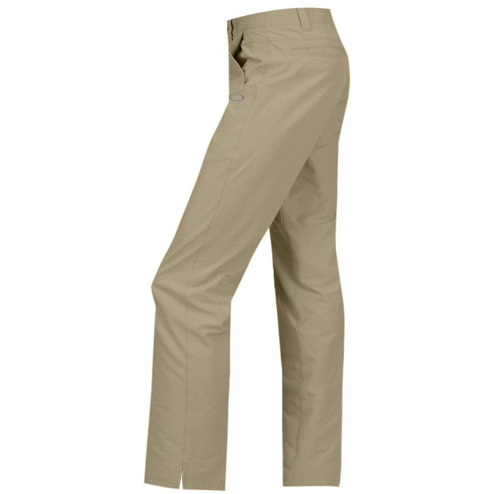 NEW Men's Oakley Golf Slacks Take Pant 2.5 Wood Grey - Ch...
