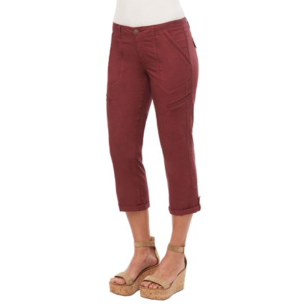 Cotton Twill Cropped Pants Menswear Crop Pants