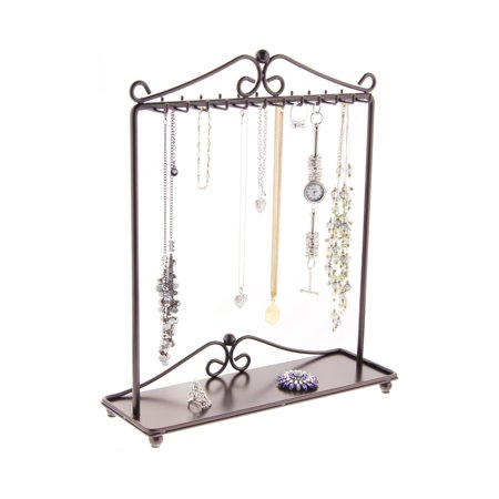 necklace holder stand jewelry organizer display storage