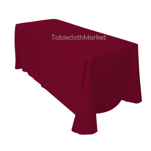 "90/""×156/"" Tablecloths 100/% Polyester 25 COLORS Wholesale Wedding Linen Catering"