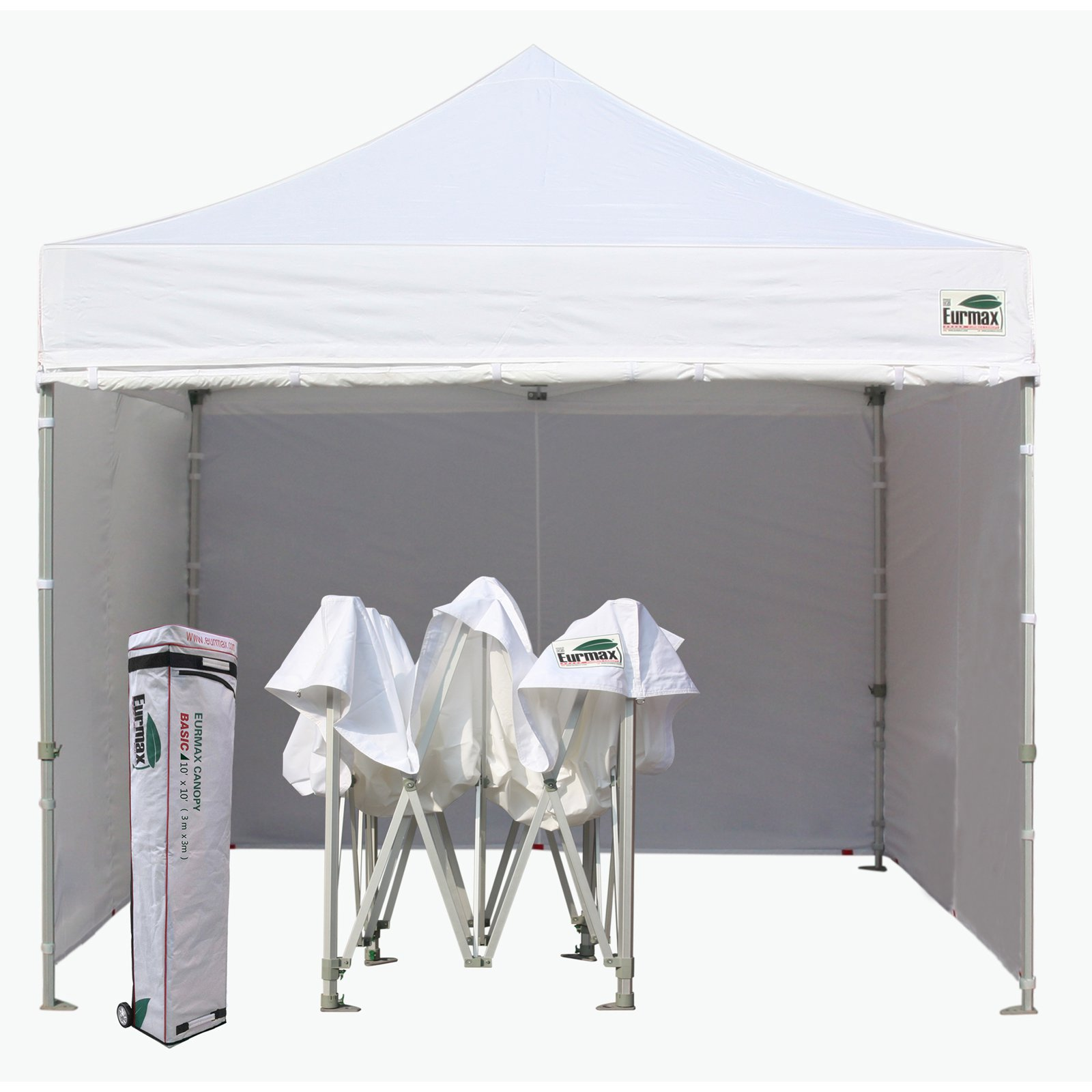 Eurmax Canopy Inc Commercial 10 x 10 ft. Zipper Wall Canopy Tent