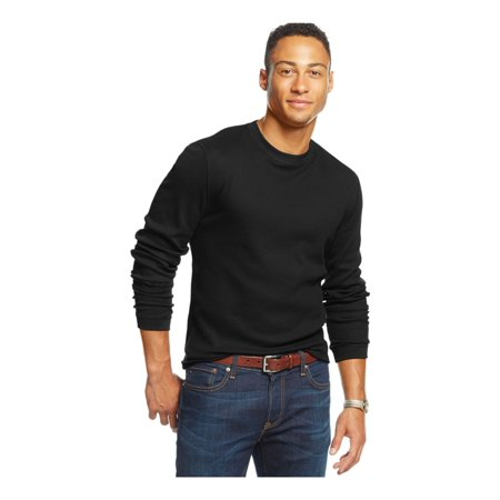 - Club Room Mens Thermal LS Pullover Sweater