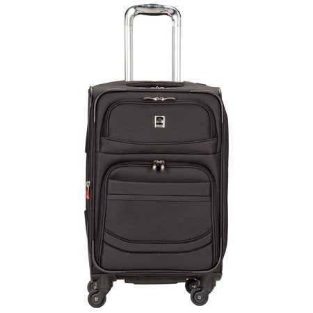 Delsey Luggage D-Lite Softside 21-Inch Carry-On Lightweight ...