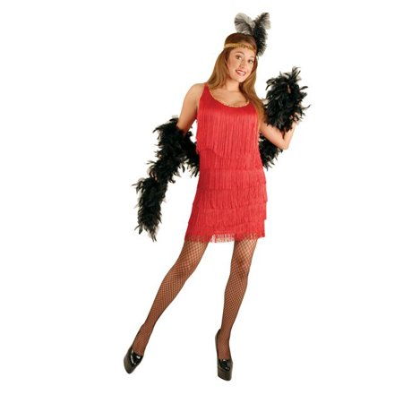 Fashion Flapper Costume (Plus Size Women's Red Fashion Flapper Costume - Size)