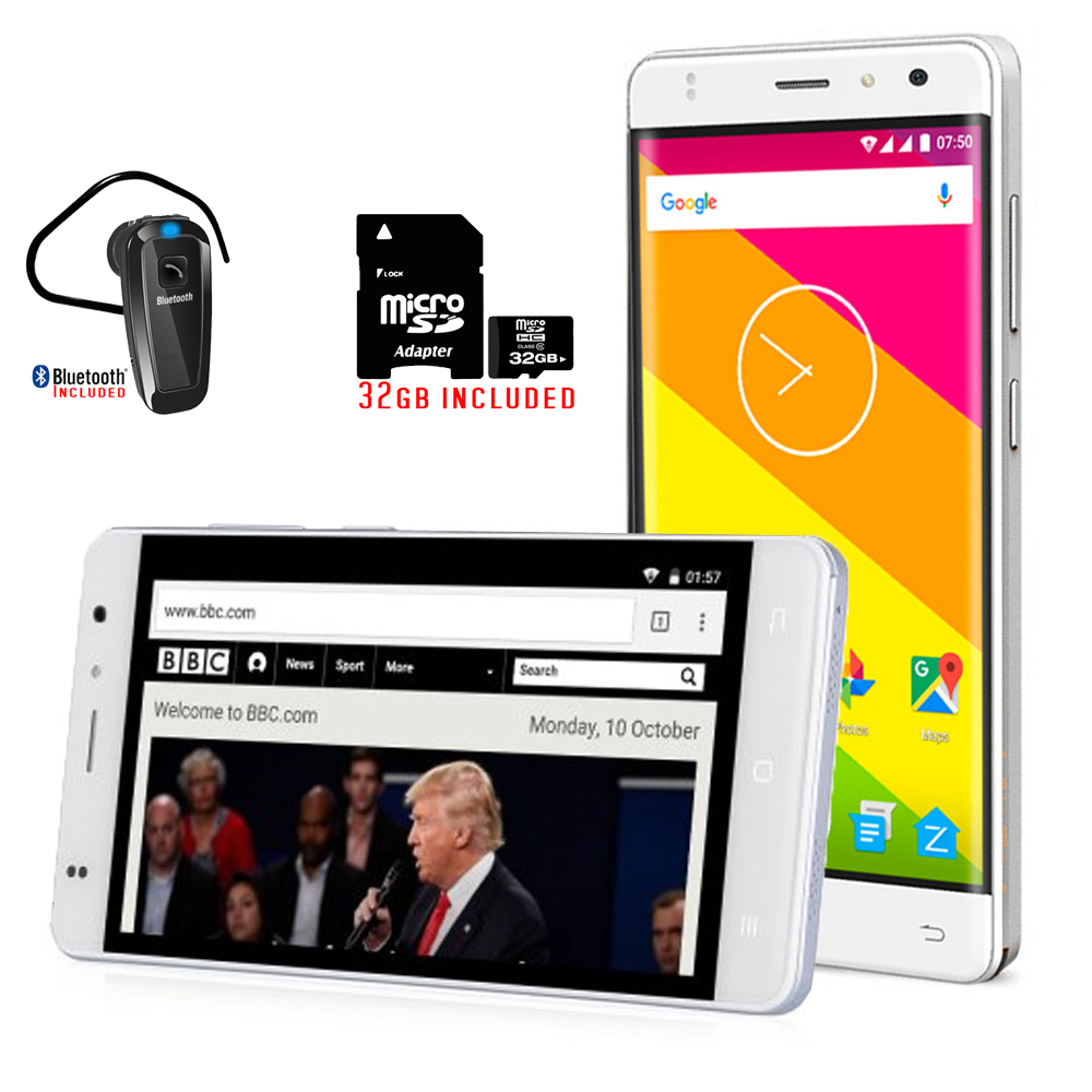 """inDigi 4G LTE SMARTPHONE 5.0"""" IPS HD TOUCH SCREEN ANDROID..."""