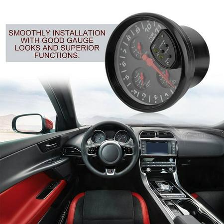 Tachometer Gauge Meter Dashboard 4 In 1 0 11k Rpm Led Shift Light