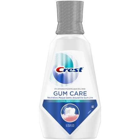 (2 pack) Crest Gum Care Mouthwash, Cool Wintergreen, 33.8 fl.
