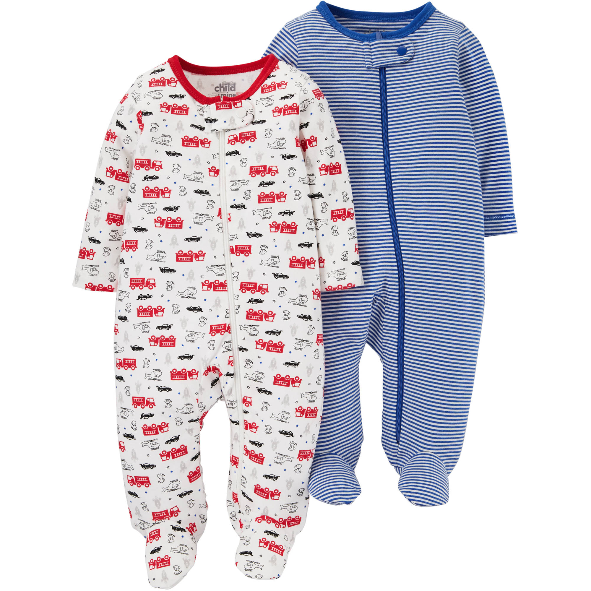 0f0574f1e38a Child of Mine by Carter s Newborn Baby Boy 2 Pack Sleep N Play ...