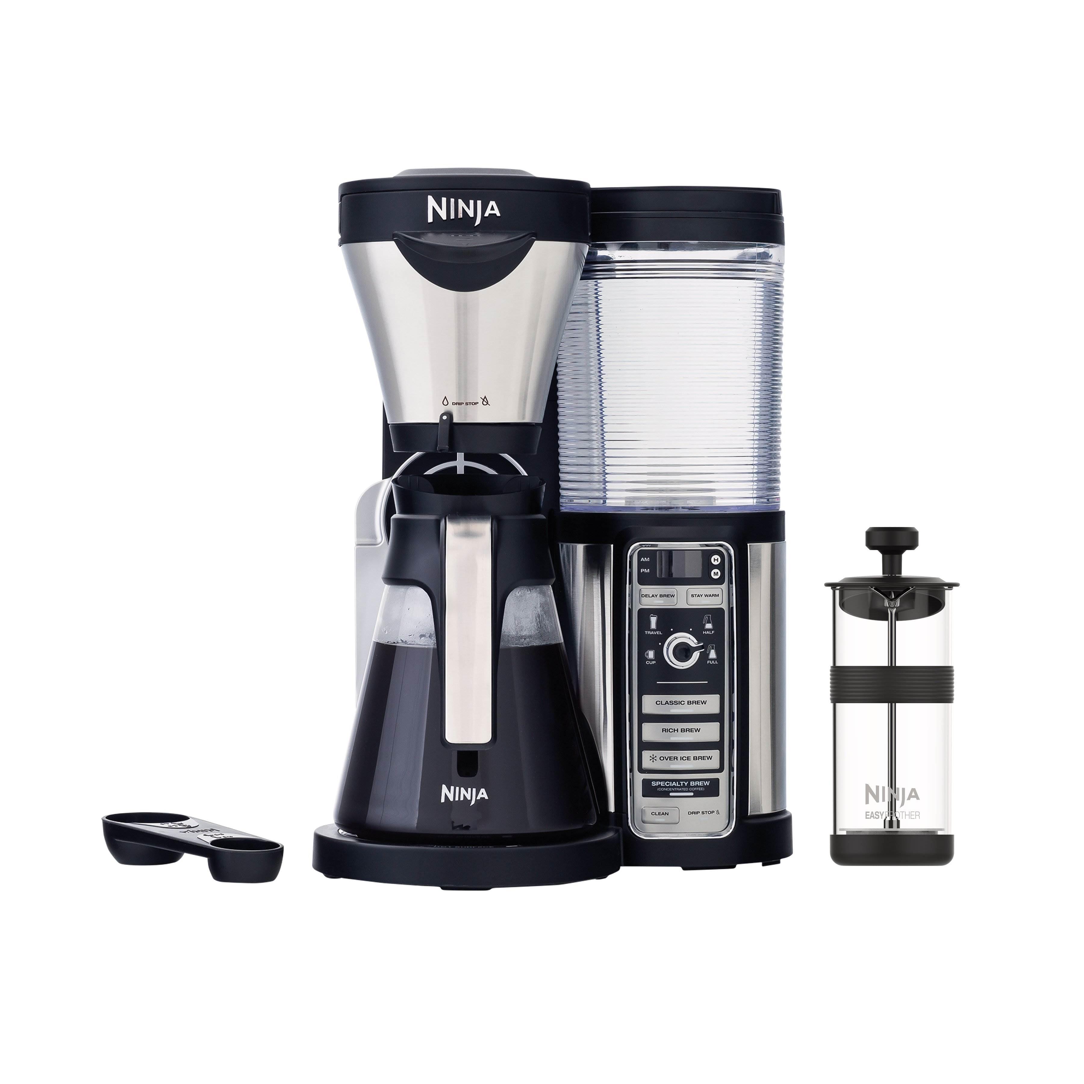 Ninja CF080 Programmable Coffee Bar Machine Maker w/ Pot (Certified Refurbished)
