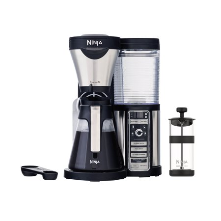 Ninja CF080 Programmable Coffee Bar Machine Maker w/ Pot (Certified Refurbished)