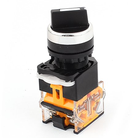 LA38/203  400V 10A NO/NC DPST 2 Position Rotary Selector Switch