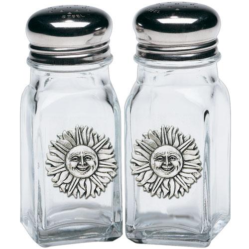 Sunface Salt & Pepper Shakers