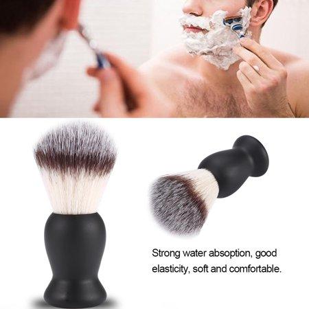 Shaving Brush for Men Beard Mustache Trimming Brush Nylon Hair Barber Salon Shaven Tool,Shaving Brush, Mustache Shaving Brush ()