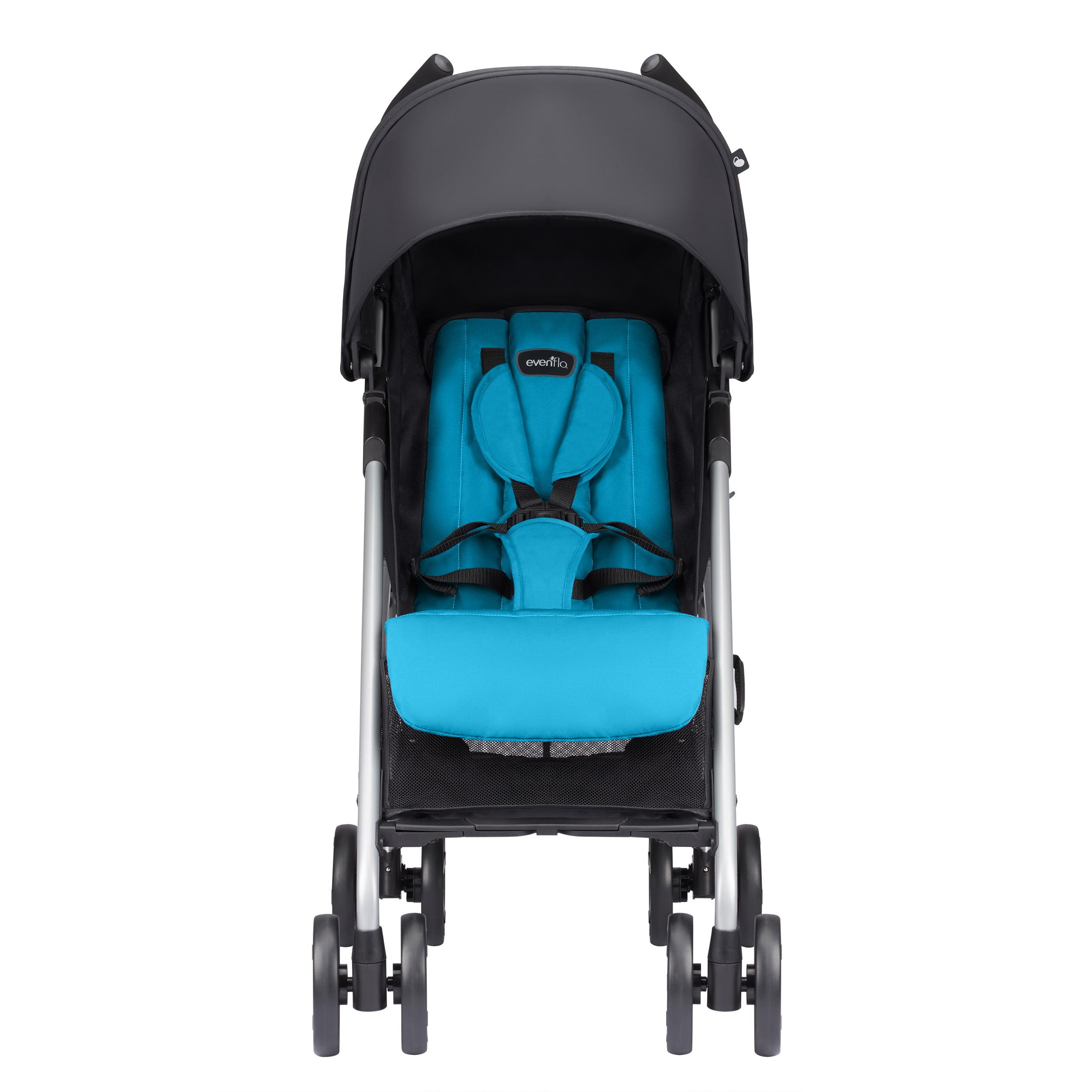 Evenflo Minno Lightweight Stroller, Seashore Blue by Evenflo