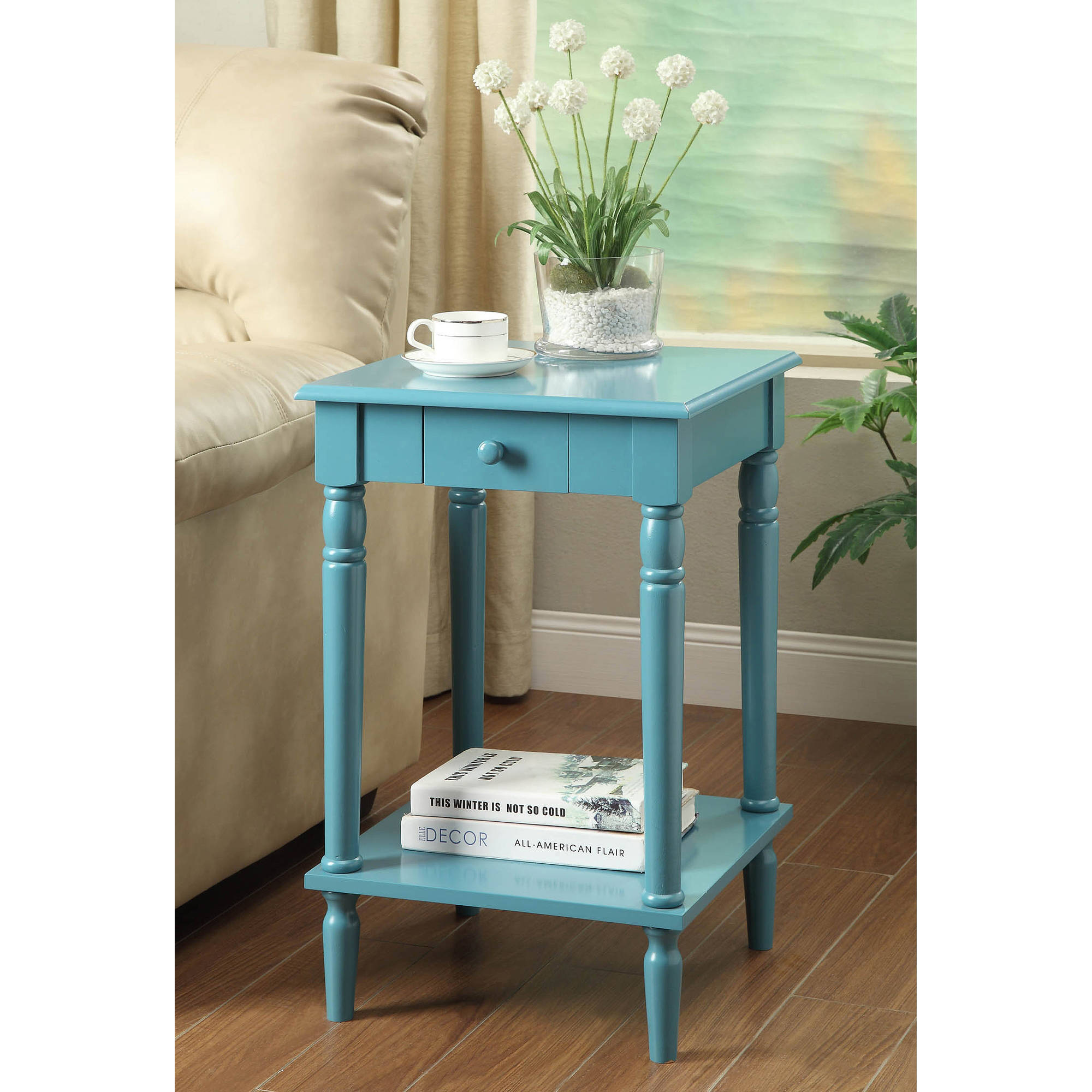 Convenience Concepts French Country End Table, Multiple Colors