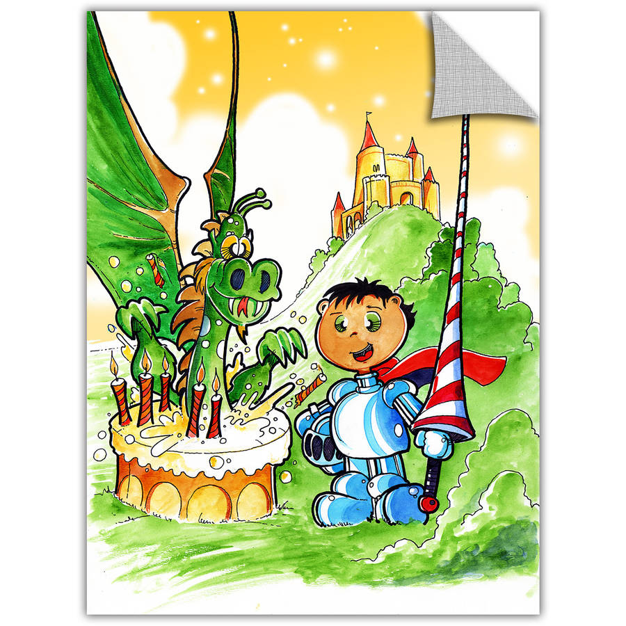 """Luis Peres """"Knight Kid"""" Removable Wall Art"""