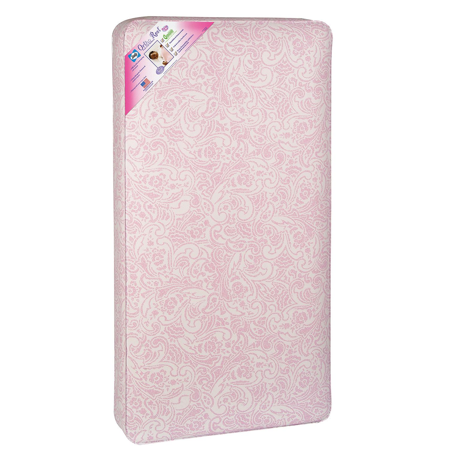 Product of Sealy Ortho Rest Crib Mattress, Pink - [Bulk Savings]