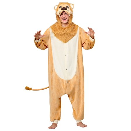 Lion Pajama Adult Costume - Lion Tamer Costume Child