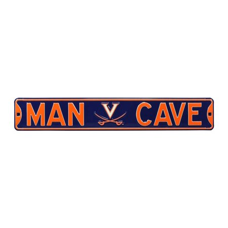 Man Cave Virginia Cavaliers Street Sign
