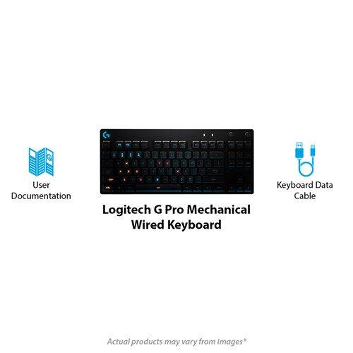 Logitech G Pro TKL Mechanical Gaming Keyboard - Romer G Switches