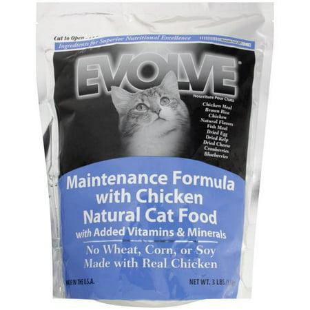 Evolve Cat Food Maintenance