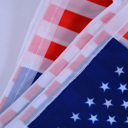 20 Pcs Per Set American Flag String America USA Bunting Banner](Buy Bunting Flags)