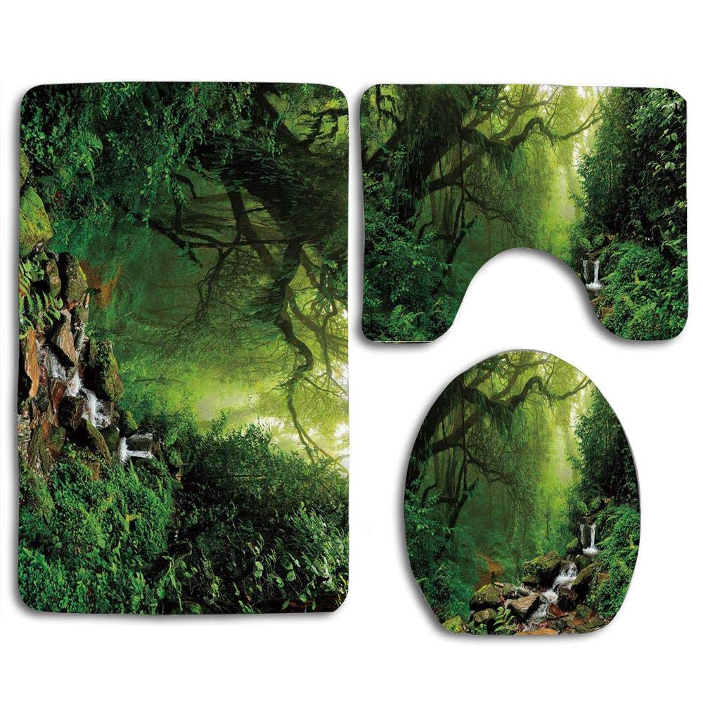 Nature Into Woods Idyllic Forest