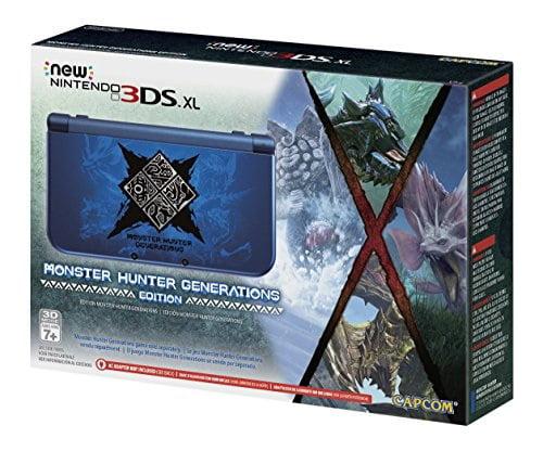 New Nintendo 3DS XL Monster Hunter Generations Edition by Nintendo
