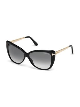 8da2eb51377ee Product Image Tom Ford FT0512 Sunglasses Shiny Black   Gradient Smoke