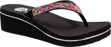 women's yellow box briah wedge thong