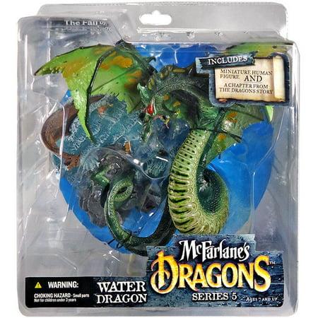 (McFarlane Dragons Series 5 Water Dragon Clan 5 Action Figure)