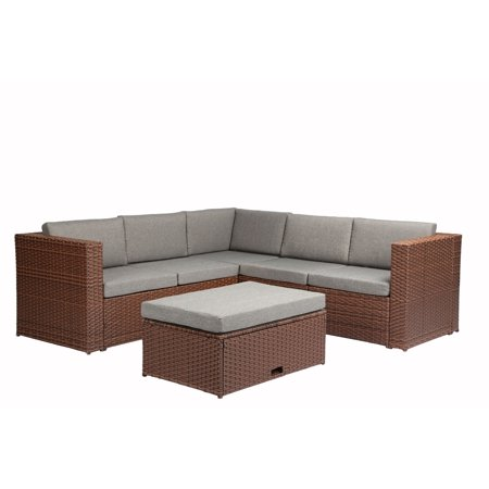 Magari Patio Garden Deep Seating Cushion Brown