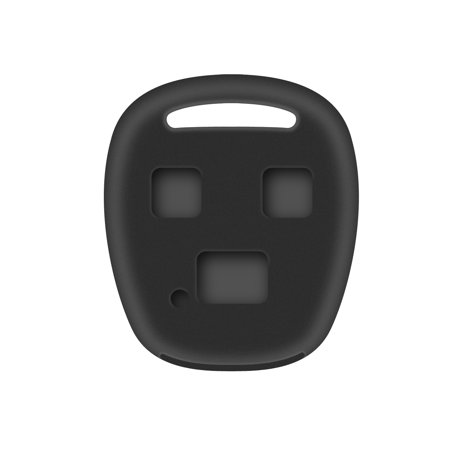 Lexus 2007 to 2009 RX 350 Black Rubber Silicone Key Fob Remote Cover