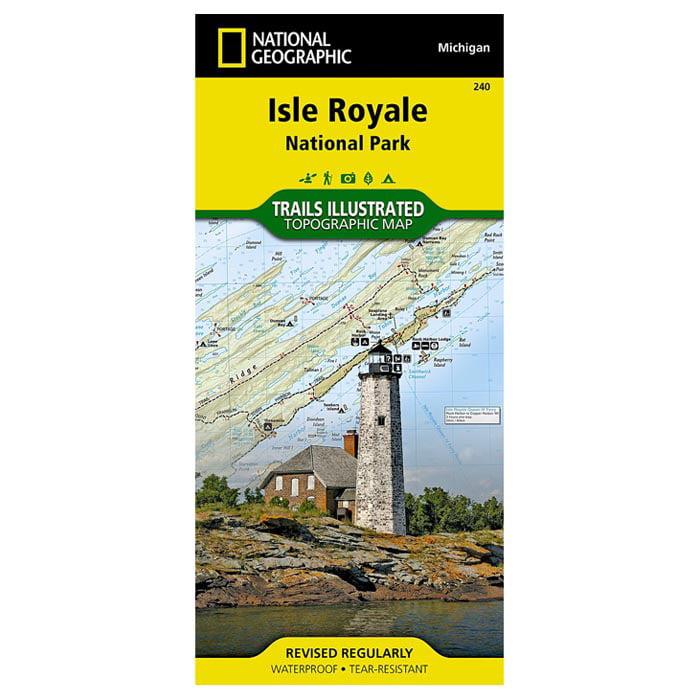 Isle Royale National Park #, Missouri, Publisher National Geographic by National Geographic